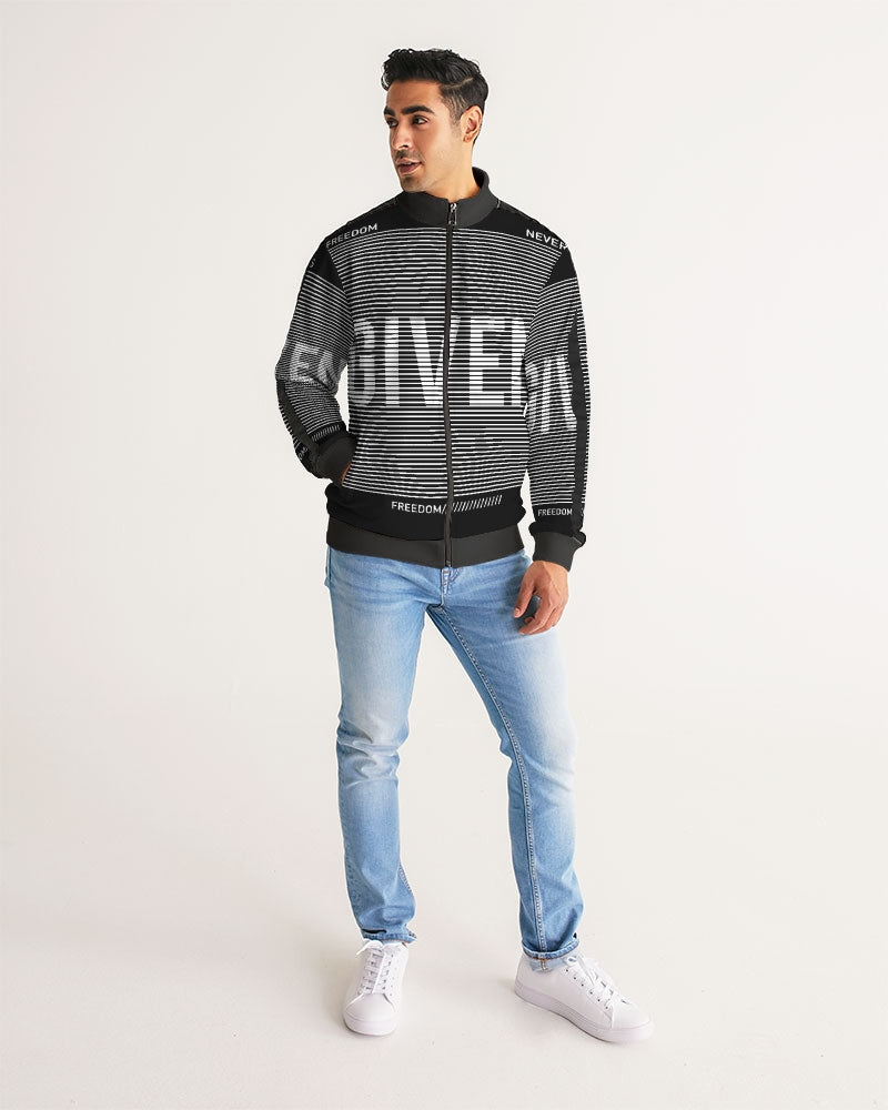 GIVEN COLLECTION Men's Athleisure Track Jacket