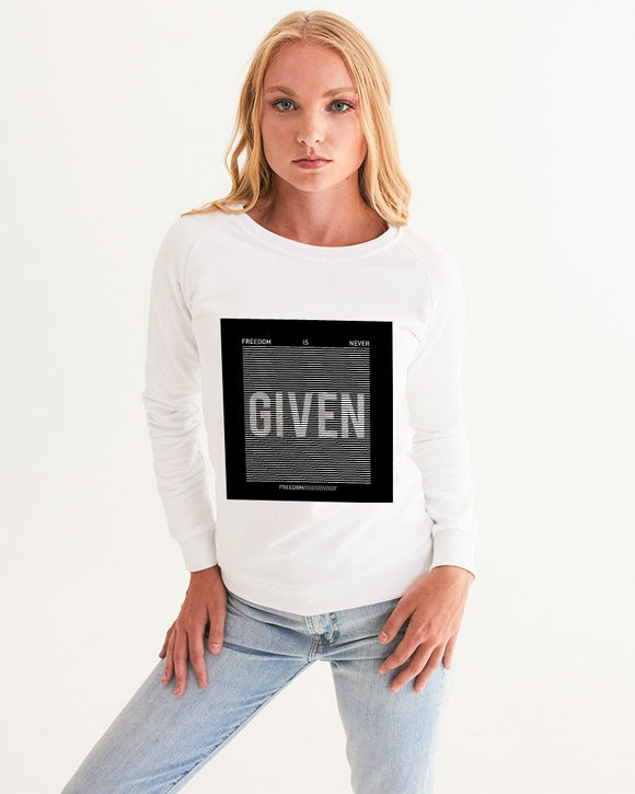 GIVEN COLLECTION Women's Athleisure Sweatshirt