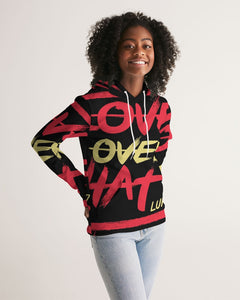 LOVE OVER HATE COLLECTION Women's Athleisure Hoodie