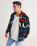 Freedom Collection Men's Stripe-Sleeve Track Jacket