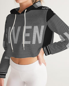 GIVEN COLLECTION Women's Athleisure Cropped Hoodie