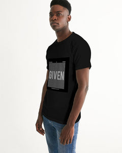 GIVEN COLLECTION Men's Black Graphic Tee