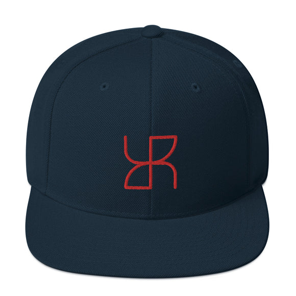 Unisex Rebel Snapback Hat