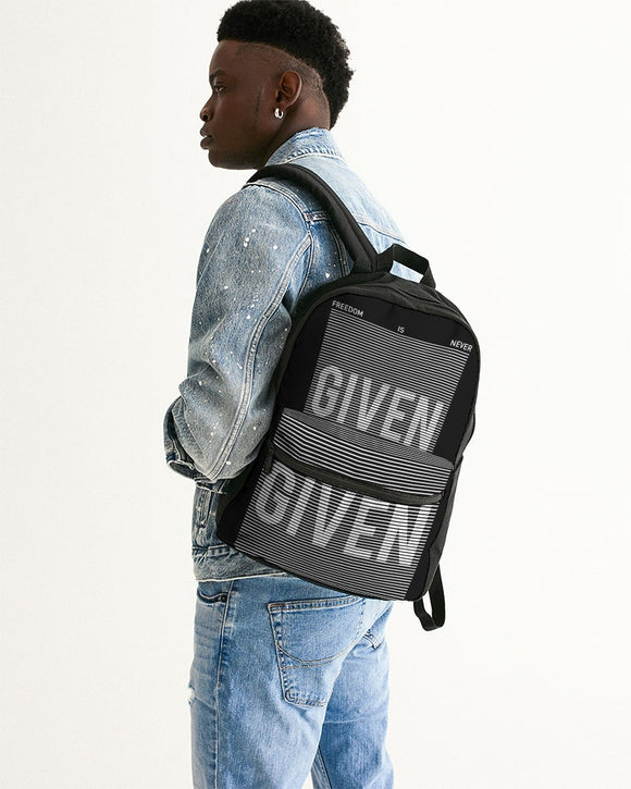 GIVEN COLLECTION Small Canvas Backpack
