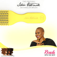 Load image into Gallery viewer, Felicia Leatherwood Detangler Brush (Mimosa Yellow)