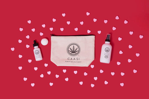 cassi gift bundle with candy hearts