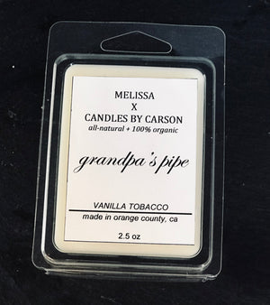 Grandpa's pipe wax melt - $10.95