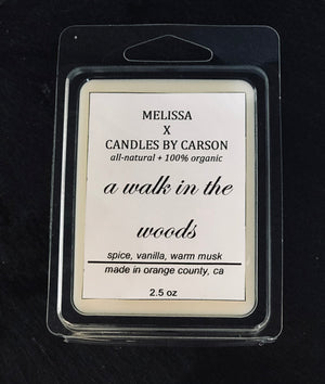 A walk in the woods wax melt - $10.95