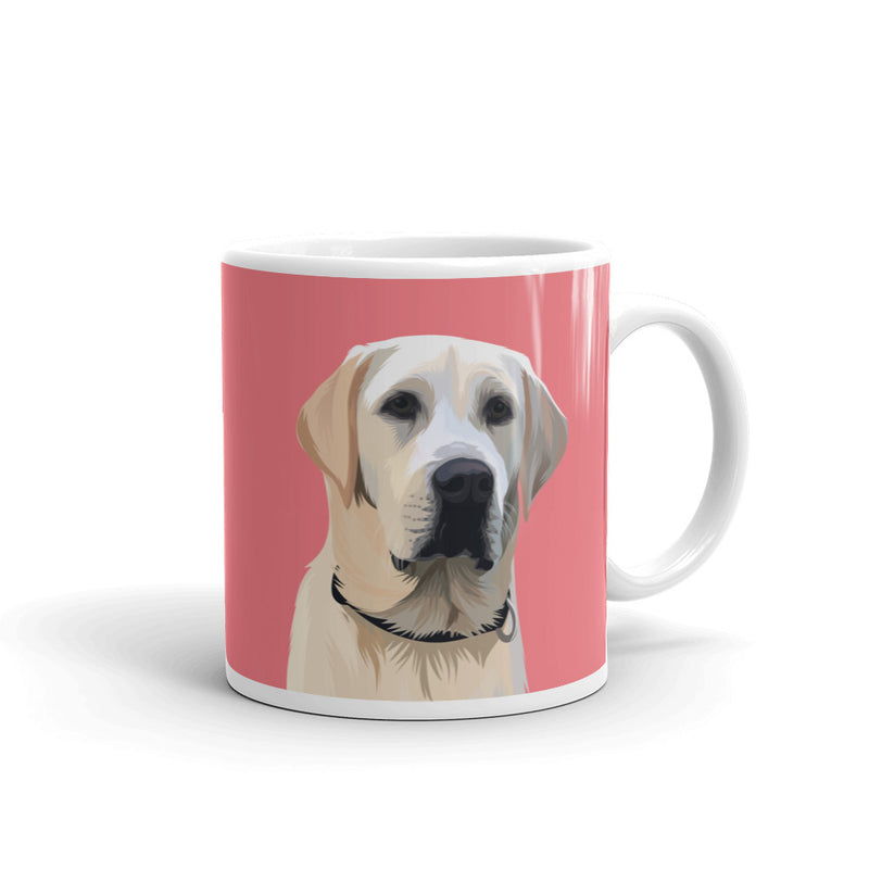 Custom Pet Portrait Mug - Two Sizes