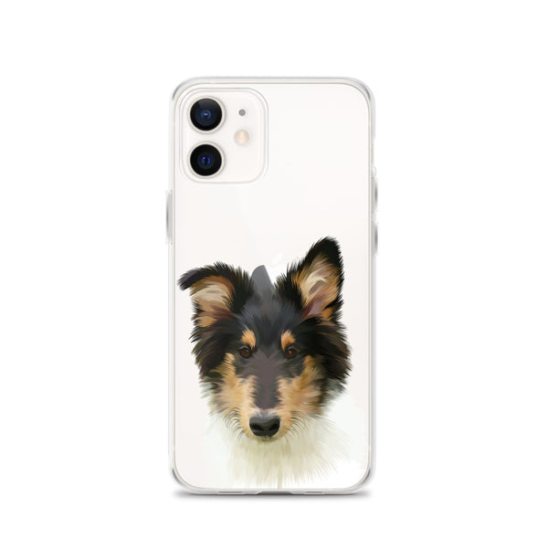 Custom Pet Portrait iPhone Case