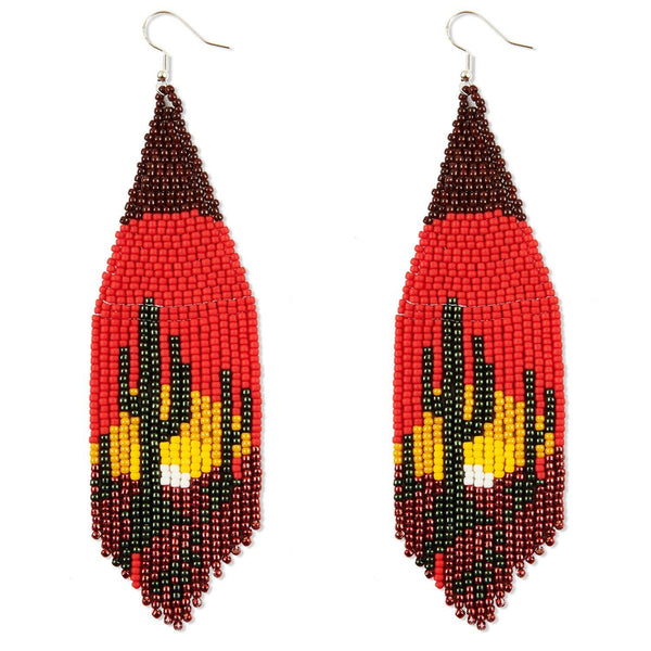 Death Valley By Mother Sierra - Huichol Jewelry - Native American Jewelry