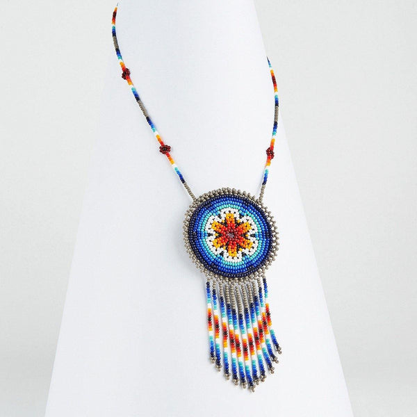 Earth By Mother Sierra - Huichol Jewelry - Native American Jewelry