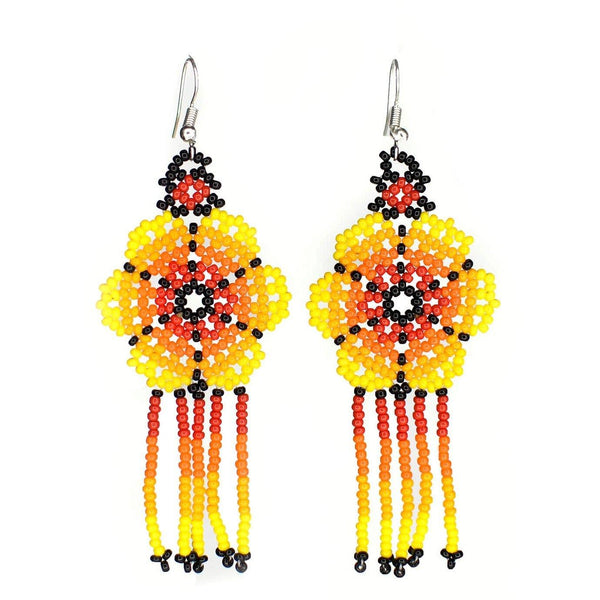 Mandarina By Mother Sierra - Huichol Jewelry - Native American Jewelry