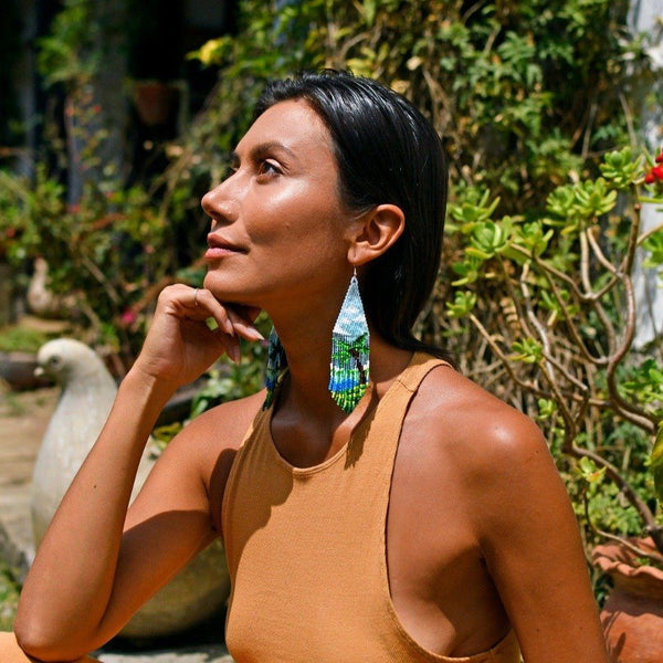 Paradisio By Mother Sierra - Huichol Jewelry - Native American Jewelry