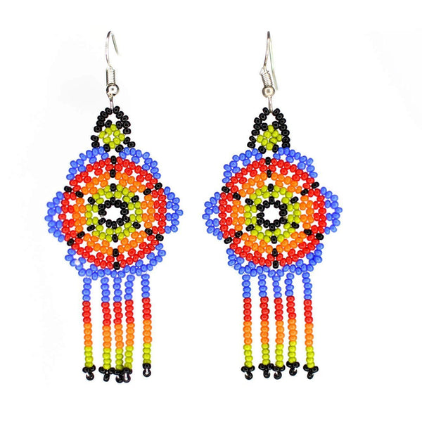 Peyote By Mother Sierra - Huichol Jewelry - Native American Jewelry