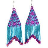 Uvas Moradas By Mother Sierra - Huichol Jewelry - Native American Jewelry