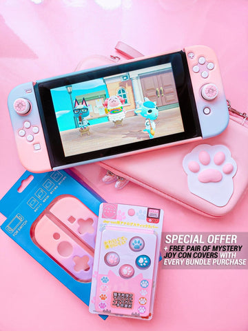 🌸 Pink Nintendo Switch Bundle