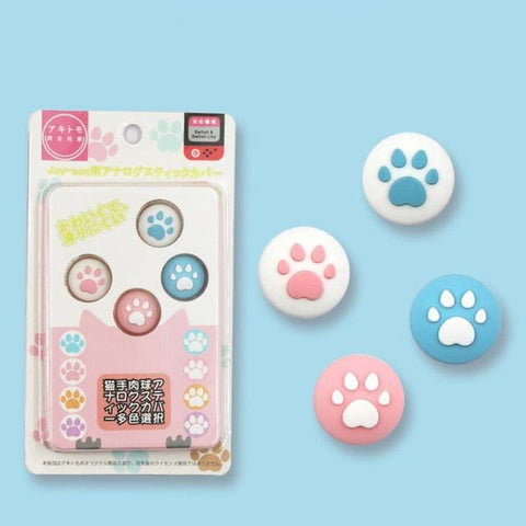 😻Paw Print Joy-Con Thumb Grip Cap Cover - OmoSkins