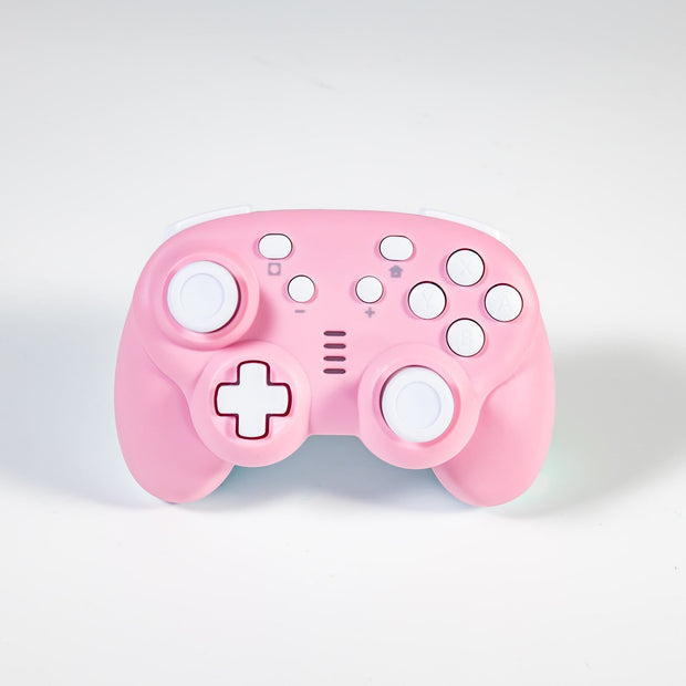 Chibi Pink/White Wireless Switch Controller