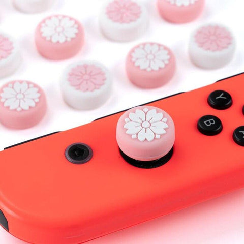 🌸Sakura Flower Joy-Con Thumb Grip Cap Cover - OmoSkins