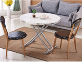 MerryRabbit – 多功能茶機升降桌MR-N5-3 Round shape Multi function lifting Coffee/Dining table