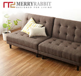 MerryRabbit - 簡約多功能2人位布藝沙發MR-071 Multi-function Fabric sofa combination