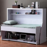 MerryRabbit - 多功能一體鋼琴式書桌隱形床 90cm單人床 MR-YXC01 Multifunctional WallBed with Foldable Table 90cm single bed