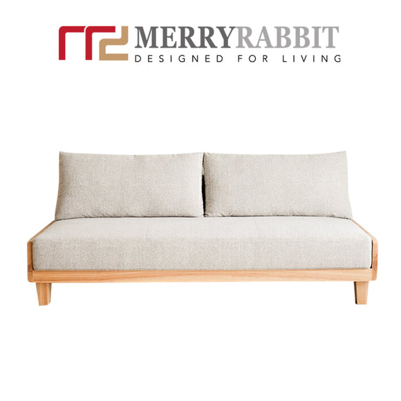 MerryRabbit – 日式多功能實木布藝實沙發床MR-1588 Japanese style solid wood sofa bed