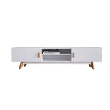 MerryRabbit - 北歐1.2米簡約儲物電視櫃地櫃MR-88039 Nordic style 1.2m TV stand with Storage