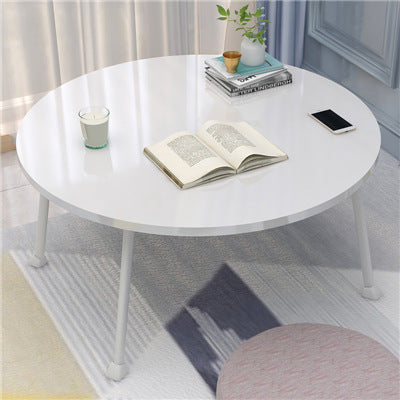 MerryRabbit - 多功能床上可摺疊電腦桌茶機MR-A188-01 Small Foldable Coffee Table Round Laptop Table