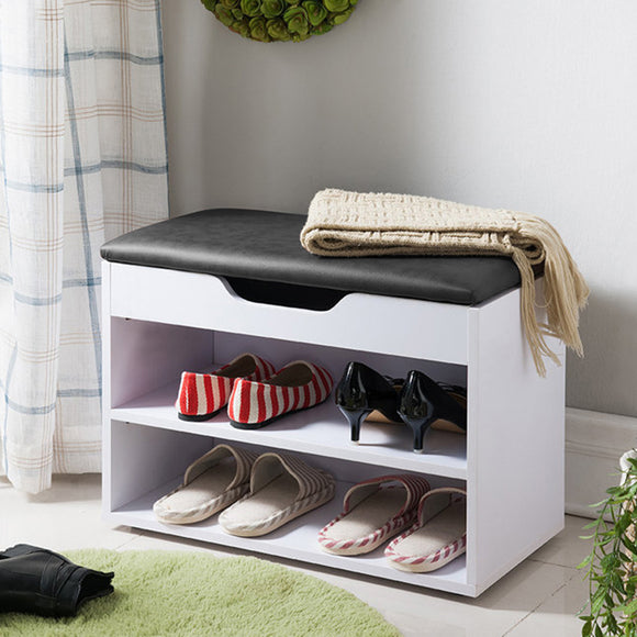 MerryRabbit - 兩層空格鞋櫃600# Shoe Storage with Free Delivery