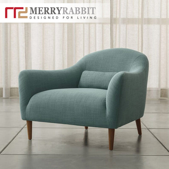 MerryRabbit – 北歐簡約布藝沙發單人位MR-9075 Single seater fabric Sofa