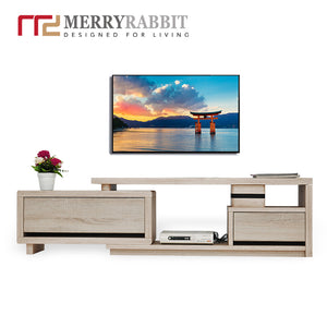 MerryRabbit -小戶型多功能伸縮電視櫃MR-TT1053  Extendable TV Cabinet