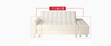 MerryRabbit - 日式小戶型多功能組合PU皮梳化 MR-114 Pu Sofa Bed With Storage Ottoman
