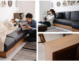 MerryRabbit – Pu 梳化床連儲物腳踏MR-225A Pu Sofa Bed With Storage Foot Res