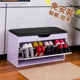 MerryRabbit - 翻斗鞋櫃800#  Pull-out Shoe Storage Ottoman with Free Delivery