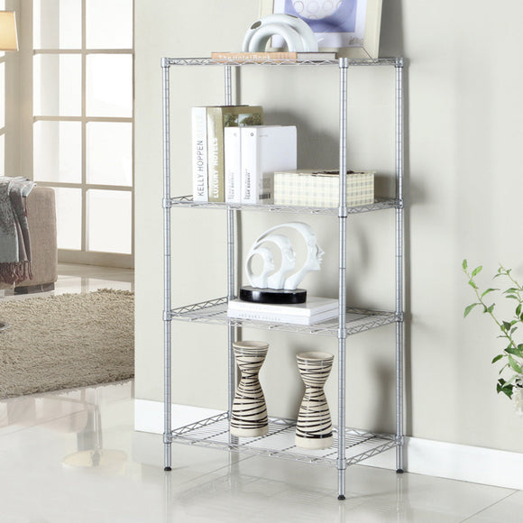 MerryRabbit - 4 層收納層架 4 Tiers (Silver) - Multi-Tiered Storage Rack
