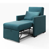 MerryRabbit - 多功能單人布藝梳化床 MR-7296  Single Seater Multi-functional Folding Fabric Sofa