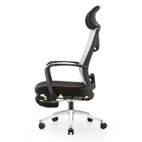 MerryRabbit -網布高背可調節可躺轉椅電腦椅辦公椅大班椅帶腳踏 MR-A61 Mesh Reclining Office Chair High Back Chair with Footrest
