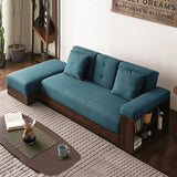 MerryRabbit - 布藝簡約多功能梳化組合MR-SS-001 Multi-functional Fabric sofa bed with storage ottoman and armrest
