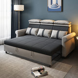 MerryRabbit - 190cm多功能摺疊布藝梳化床MR-8251A Multi-functional Fabric Folding Bed with Adjustable Headrest 190cm