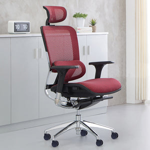 MerryRabbit - 高背大班椅人體工學椅MR-871  Multi-functional Ergonomic High-Back Swivel Chair