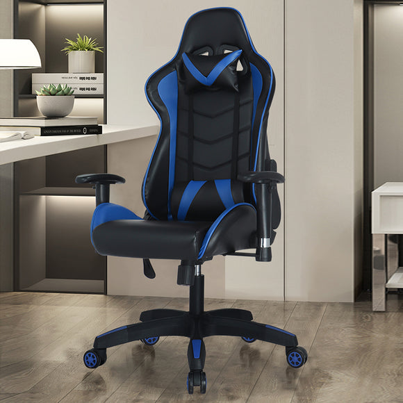 MerryRabbit - 防刮PU仿皮可調節平躺高背賽車椅電競椅 MR-915 Racecar Seat-Themed Office Chair