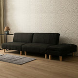 MerryRabbit - 多功能可摺疊三人位布藝梳化組合套裝MR-1239 3 Seaters Fabric Sofa Set with Storage Ottoman