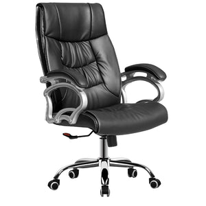 MerryRabbit – 牛皮辦公椅MR-347 COW LEATHER - Executive Chair LEATHER