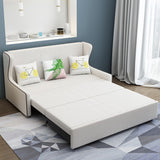 MerryRabbit - 166cm高背多功能褶疊布藝儲物梳化床MR-6065 High Back Multi-functional Folding Storage Fabric Sofa Bed 166 cm