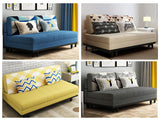 MerryRabbit - 120cm雙人位多功能摺疊梳化床MR-6010 Multi-functional 1.2M 2 Seaters Foldable Fabric Sofa Bed