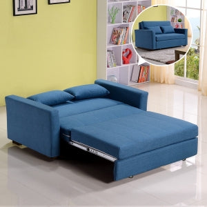 MerryRabbit - 145cm多功能布藝大兩座位儲物梳化床MR-6019  2 seater Multi - functional fabric Sofa bed with storage 1.45 meter