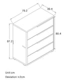 MerryRabbit -抽屜式四層收納斗櫃MR-Dc1469 4 Drawers Storage Cabinet