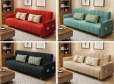 MerryRabbit - 多功能褶疊布藝梳化床有扶手MR-607A Multi-functional folding Fabric sofa bed with armrest